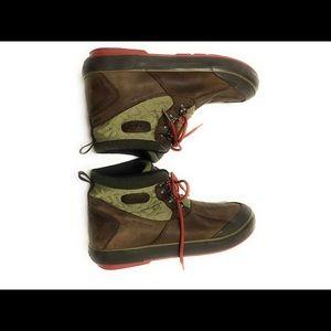 Keen Elsa Mulch/Olive Waterproof Boot Keep Warm